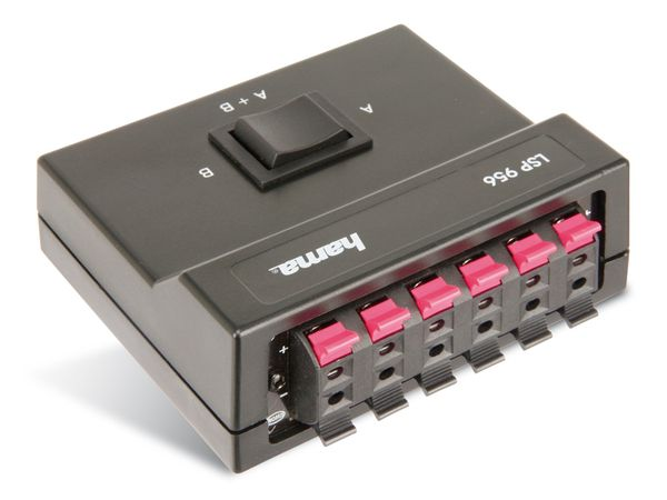 Lautsprecher-Umschaltpult HAMA LSP956 - Produktbild 1