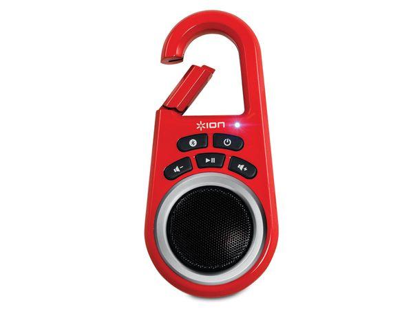 Bluetooth Lautsprecher ION CLIPSTER, rot - Produktbild 1