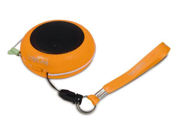 Portabler Lautsprecher LOGILINK SP0016, orange