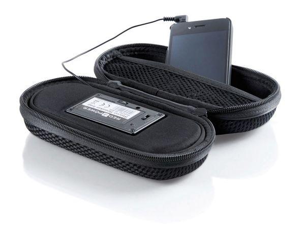 Portabler Lautsprecher RED4POWER, schwarz - Produktbild 1