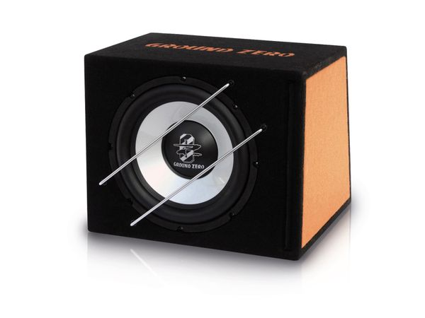 passive Subwoofer-Bassreflexbox GROUND ZERO GZIB 1200BT