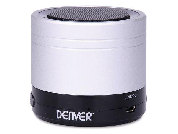 Bluetooth Lautsprecher DENVER BTS-20, silber