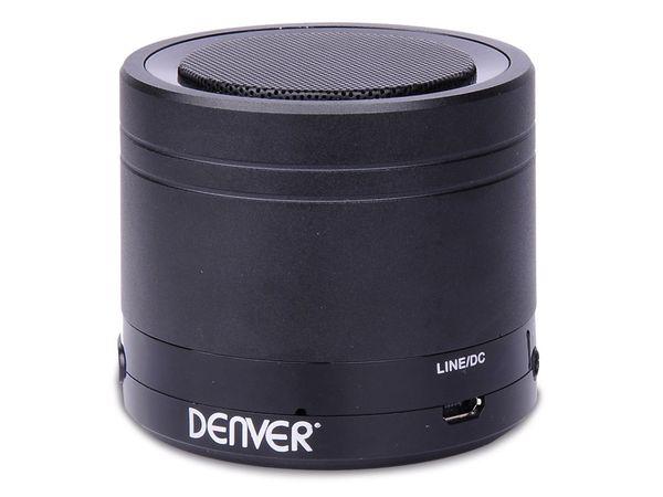 Bluetooth Lautsprecher DENVER BTS-21, schwarz