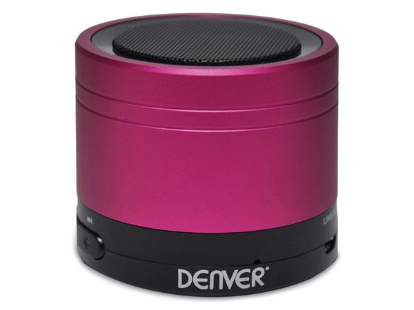 Bluetooth Lautsprecher DENVER BTS-20, pink