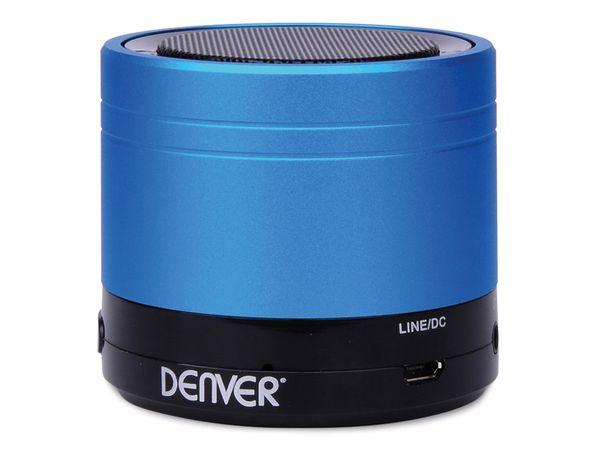 Bluetooth Lautsprecher DENVER BTS-20, blau