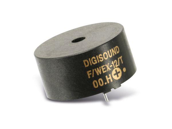 Signalgeber, Schallwandler elektromagnetisch DIGISOUND F/WEX-12/T