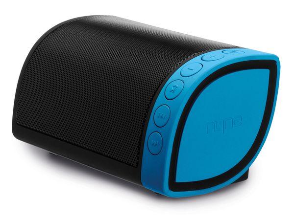 Bluetooth Lautsprecher NYNE Cruiser, schwarz/blau