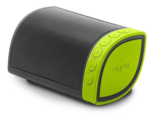 Bluetooth Lautsprecher NYNE Cruiser, grau/grün