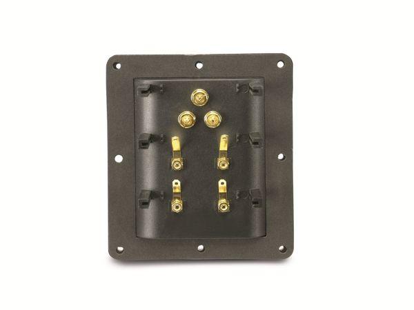 High End Bi-Amping Lautsprecher-Anschlussterminal DYNAVOX - Produktbild 3