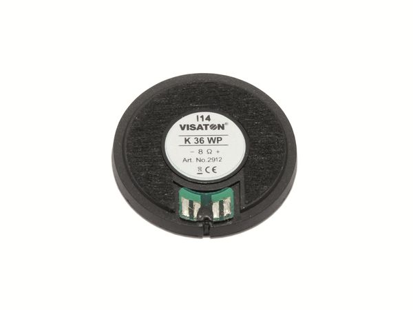 Kleinlautsprecher VISATON K 36 WP, 1 W, 8 Ω - Produktbild 2