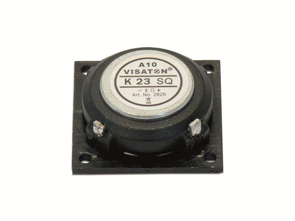 Kleinlautsprecher VISATON K 23 SQ, 0,5 W, 8 Ω - Produktbild 2
