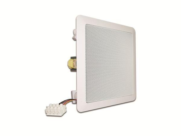 Deckenlautsprecher VISATON DL 18/2 SQ, 40 W, 8 Ω/100V