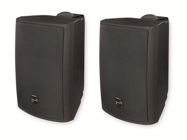 Lautsprecherbox DYNAVOX PB402, Paar, schwarz - Produktbild 1