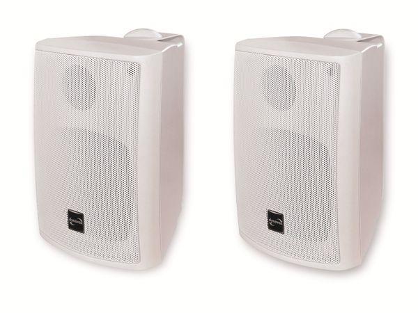 Lautsprecherbox DYNAVOX PB402, Paar, weiß - Produktbild 1