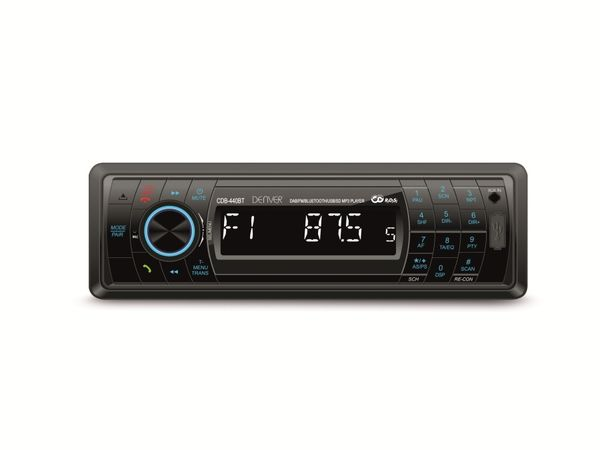 Autoradio DENVER CDB-440BT, USB, SD Bluetooth, DAB+