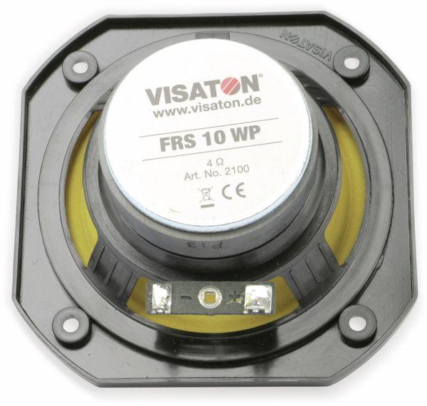 Breitband-Lautsprecher VISATON FRS 10 WP, 4Ω, 25W, IP65 - Produktbild 5