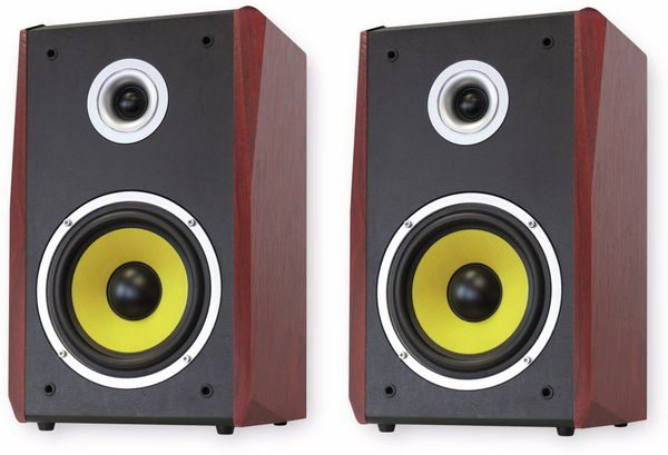 Lautsprecherbox DYNAVOX TG-1000B-E kirschfarben - Produktbild 1