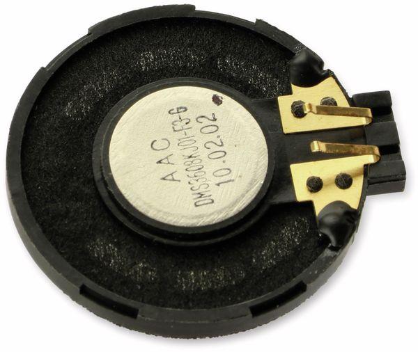 Kleinlautsprecher AAC DMS3608KJ01-F3-G, 36 mm, 8 Ω - Produktbild 3