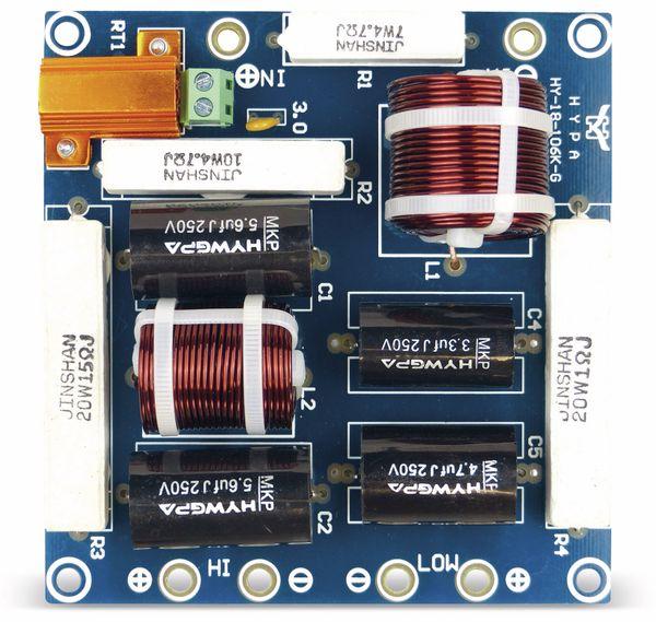 Frequenzweiche DYNAVOX 2W300, 2-Wege, 300W