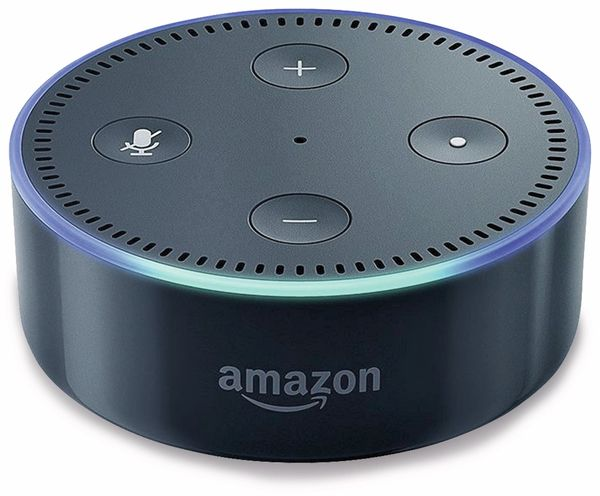 Sprachassistent AMAZON echo Dot, schwarz