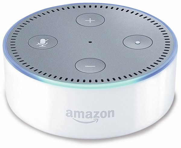 Sprachassistent AMAZON echo Dot, weiss