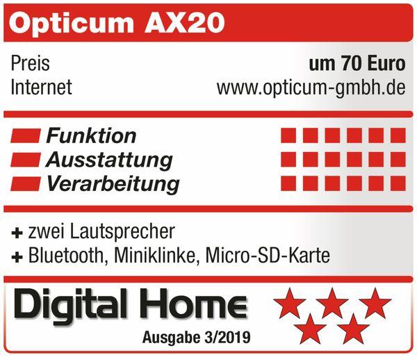 Bluetooth Lautsprecher RED OPTICUM AX 20, Stereo - Produktbild 7