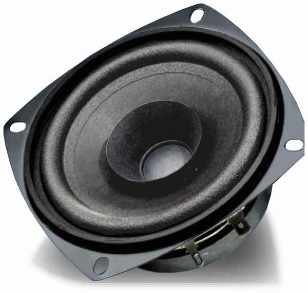 Breitband-Lautsprecher, VISATON, FRS 10 WP, 8 Ohm, schwarz