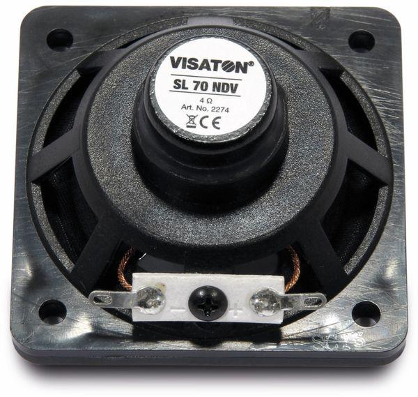 Breitbandlautsprecher VISATON SL 70 NDV, 4 Ohm - Produktbild 2