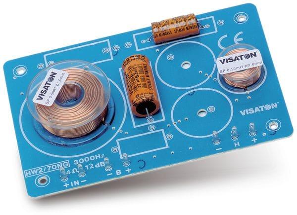 Frequenzweiche VISATON HW 2/70 NG, 8 Ohm, 2 Wege