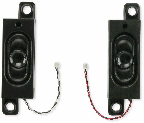 Lautsprecher-Set, L/R, 4 Ohm, 2,5 W, aus Laptop