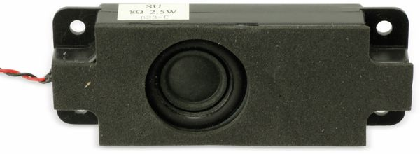 Lautsprecher-Set, L/R, 8 Ohm, 2,5 W, aus Laptop - Produktbild 2