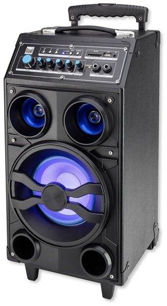Portabler Lautsprecher DUAL DSBX 100, schwarz