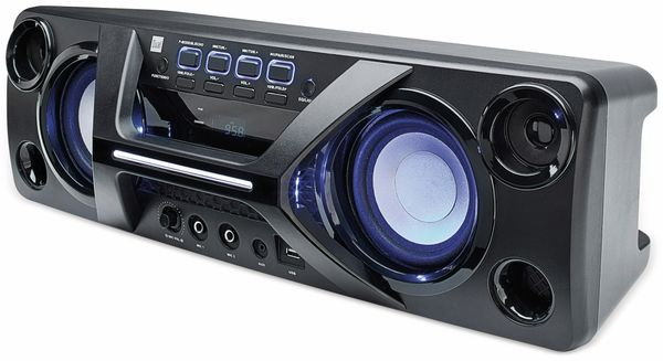 Portabler Lautsprecher DUAL DSBX 90, schwarz - Produktbild 1
