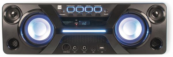 Portabler Lautsprecher DUAL DSBX 90, schwarz - Produktbild 3