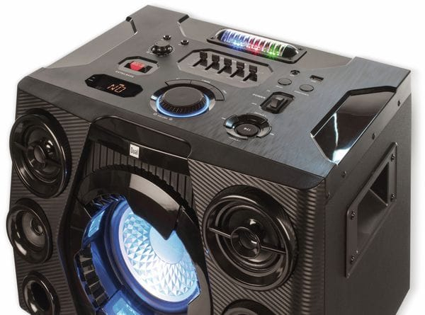 Portabler Lautsprecher DUAL DSBX 110, schwarz - Produktbild 2
