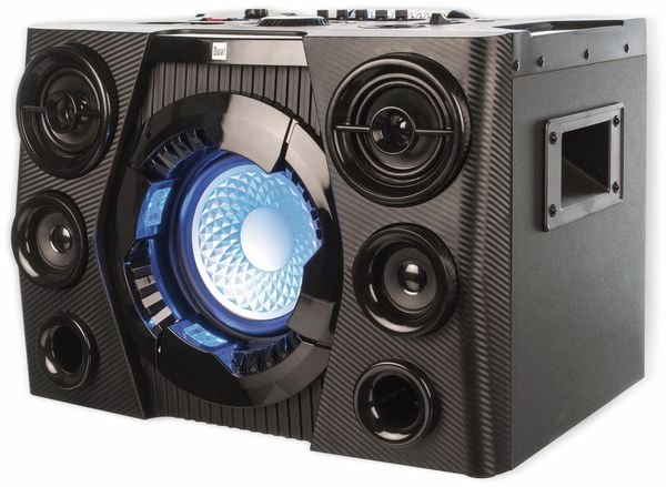 Portabler Lautsprecher DUAL DSBX 110, schwarz - Produktbild 3