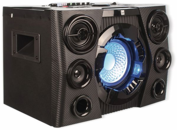 Portabler Lautsprecher DUAL DSBX 110, schwarz - Produktbild 4
