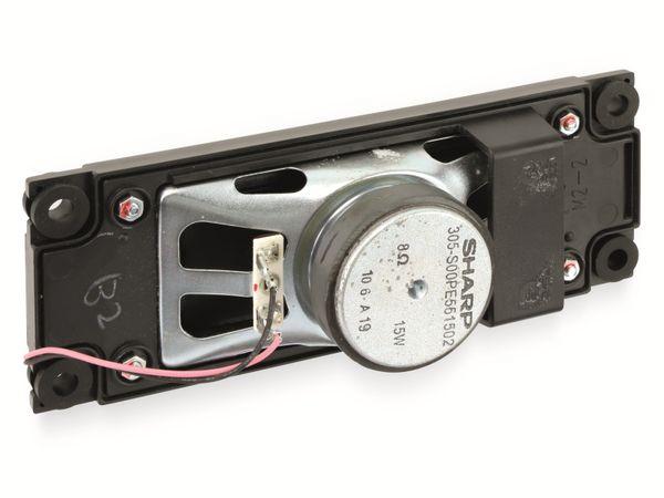 Bassreflex-Lautsprecherchassi SHARP RSP-ZA158WJZZ R, 8 Ω, 15 W, rechts - Produktbild 2