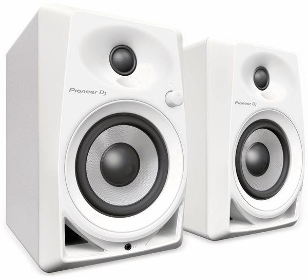 "Aktiv-Lautsprecher PIONEER DJ DM-40-W, 4"", weiß"