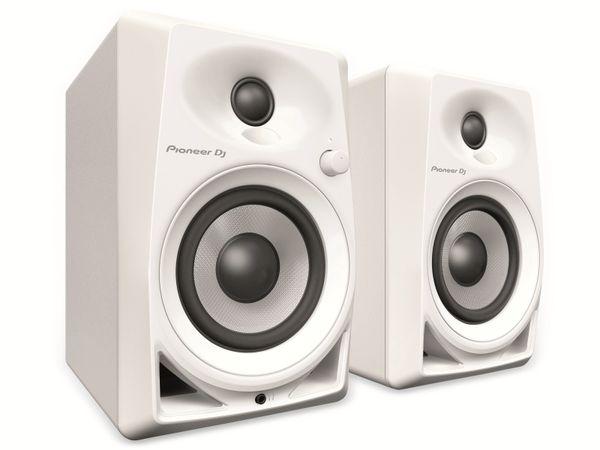 """Aktiv-Lautsprecher PIONER DJ DM-40-W, 4"""", weiß - Produktbild 1"""