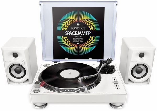 "Aktiv-Lautsprecher PIONEER DJ DM-40-W, 4"", weiß - Produktbild 4"