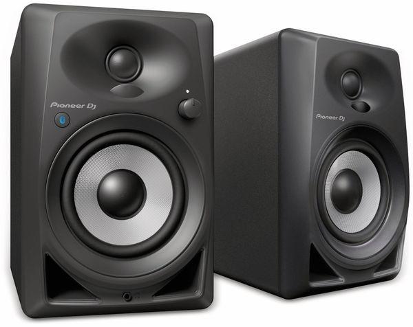 """Aktiv-Lautsprecher PIONEER DJ DM-40BT, schwarz, 4"""", Bluetooth"""