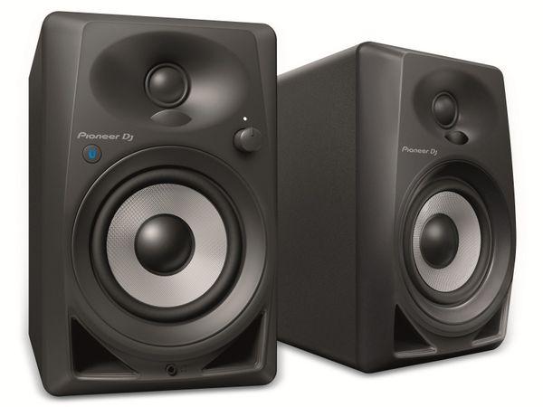 """Aktiv-Lautsprecher PIONER DJ DM-40BT, schwarz, 4"""", Bluetooth"""