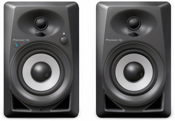 """Aktiv-Lautsprecher PIONEER DJ DM-40BT, schwarz, 4"""", Bluetooth - Produktbild 2"""