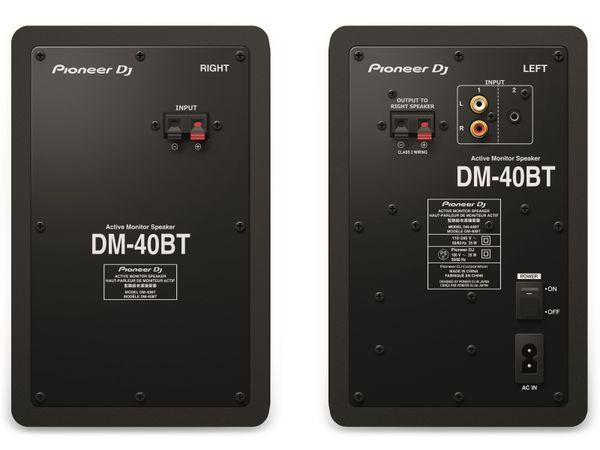 """Aktiv-Lautsprecher PIONER DJ DM-40BT, schwarz, 4"""", Bluetooth - Produktbild 3"""
