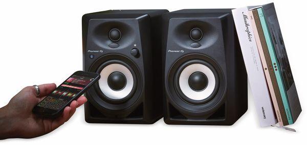 """Aktiv-Lautsprecher PIONEER DJ DM-40BT, schwarz, 4"""", Bluetooth - Produktbild 4"""