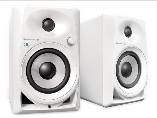 """Aktiv-Lautsprecher PIONEER DJ DM-40BT, weiß, 4"""", Bluetooth"""