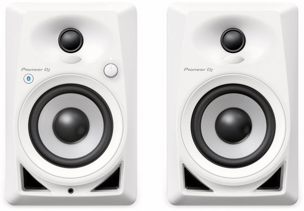 "Aktiv-Lautsprecher PIONEER DJ DM-40BT, weiß, 4"", Bluetooth - Produktbild 2"
