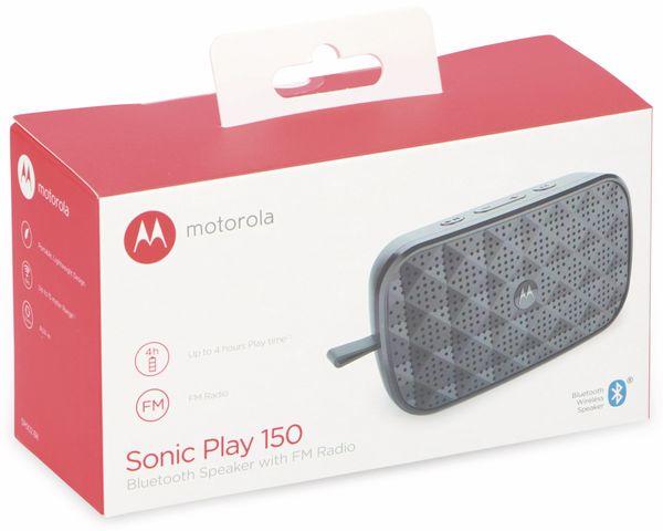 Bluetooth Lautsprecher MOTOROLA Sonic Play 150, schwarz - Produktbild 2