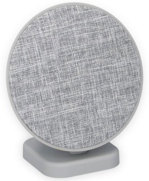 Bluetooth Lautsprecher DUNLOP, 2x3 W, grau